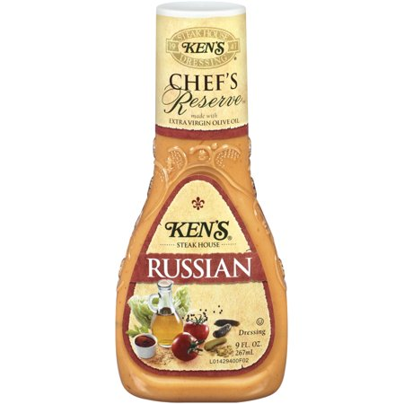 Ken's Steakhouse Chef's Reserve Dressing, Russian, 9 Fl