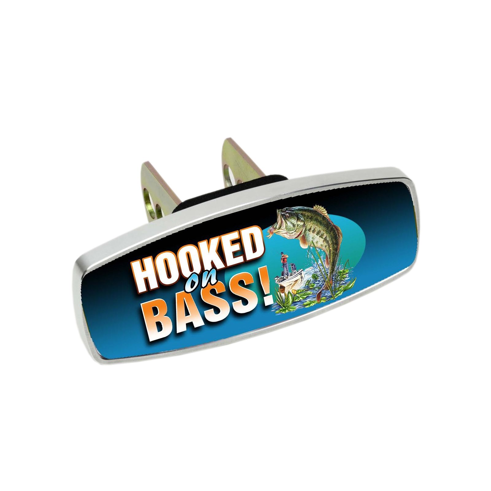 HitchMate Premier Series HitchCap, Hooked on Bass