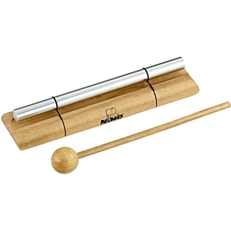 Nino Percussion NINO579L Large Handheld Energy Chime, Natural