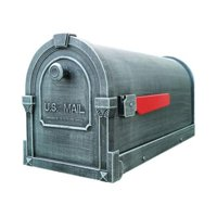 Special Lite Products SCS-1014-VG Savannah Curbside Mailbox, Verde Green