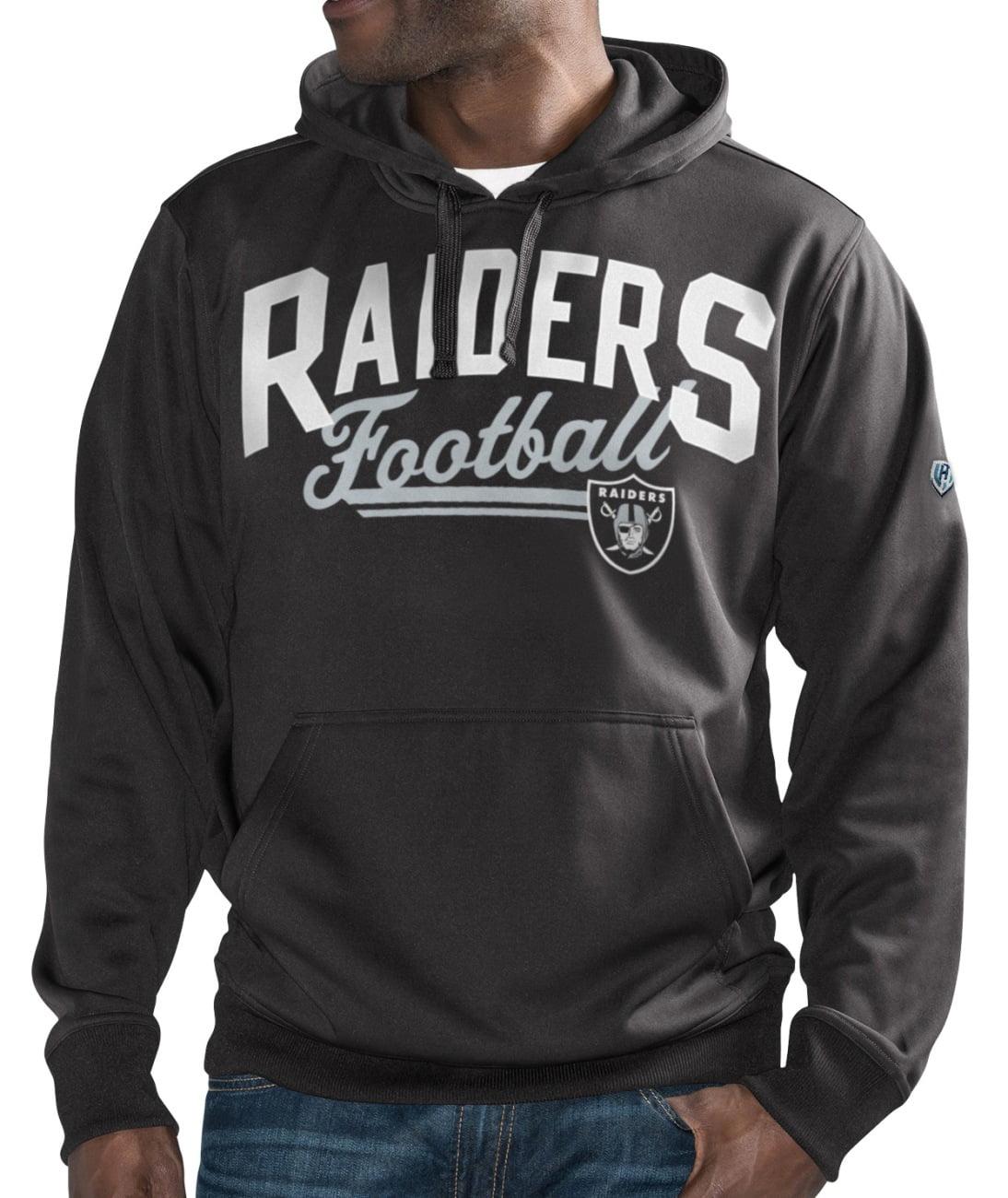 "Oakland Raiders NFL Men's G-III ""Rushing"" Pullover Hooded Fleece Sweatshirt by G-III Sports"