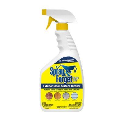 Spray and Forget SFPMCS-6 32 OZ, Ready To Use, Spray and Forget, Pre Only One Brass Pre Rinse Spray