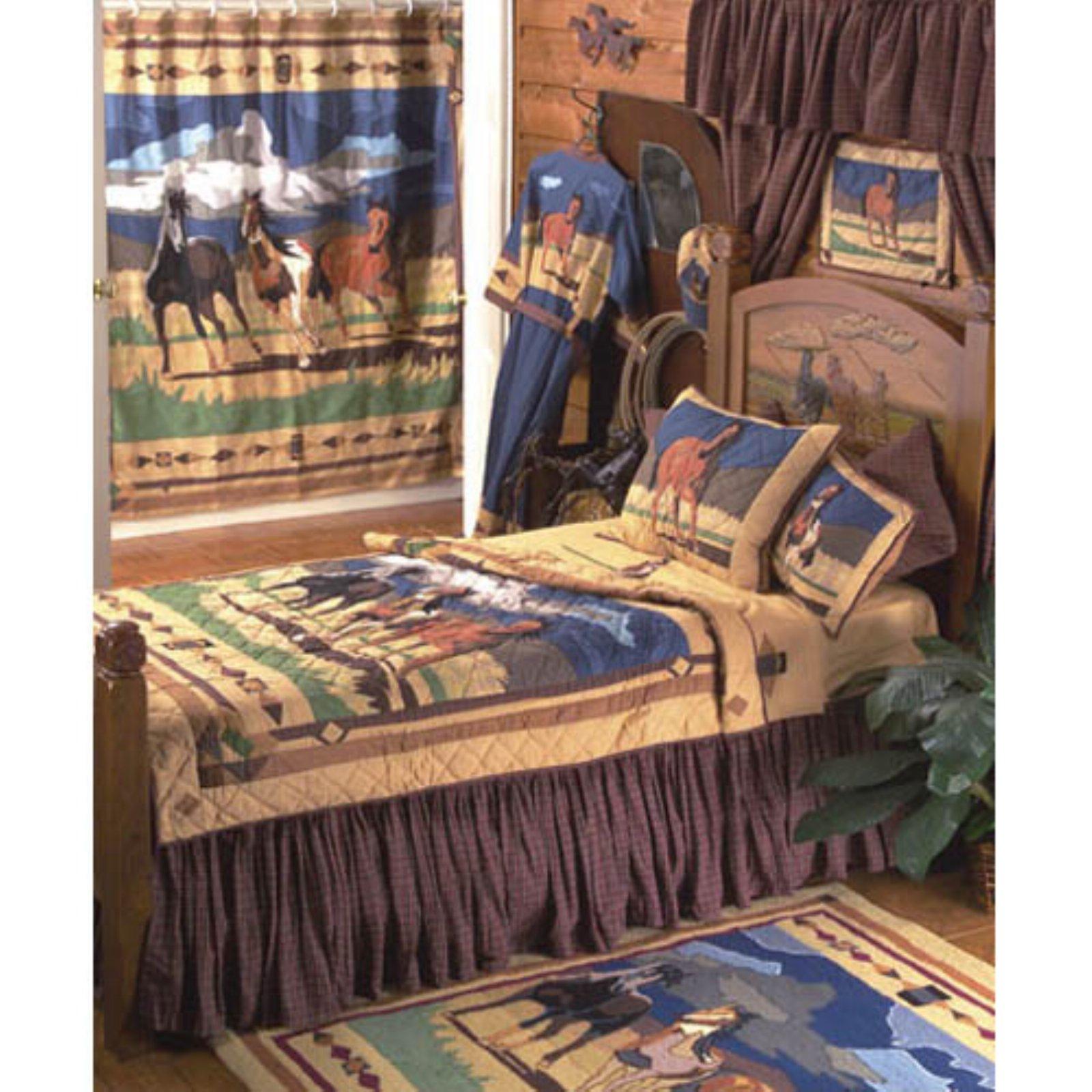 Patch Magic Wild Horses Luxury Quilt