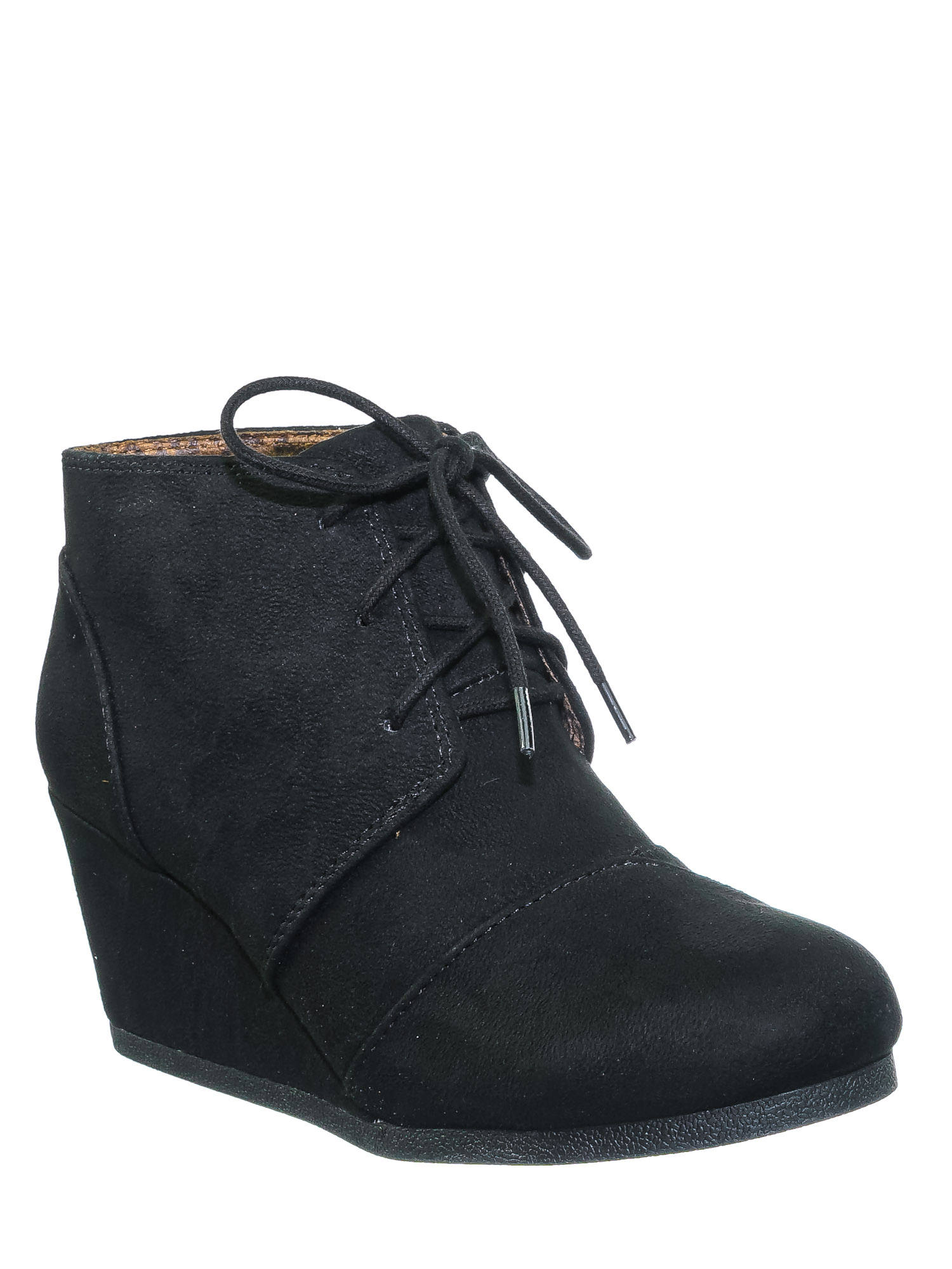 Women Lace Up Oxford Ankle Boots