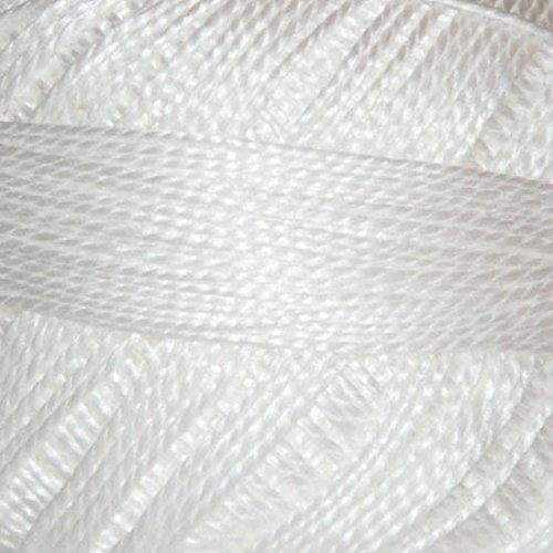 Sullivans Size 8 Pearl Cotton Ball 87yd-snow White