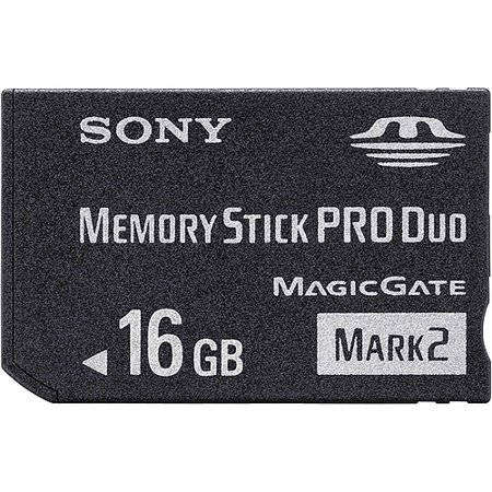 Sony - Flash memory card - 16 GB - Memory Stick PRO Duo Mark2