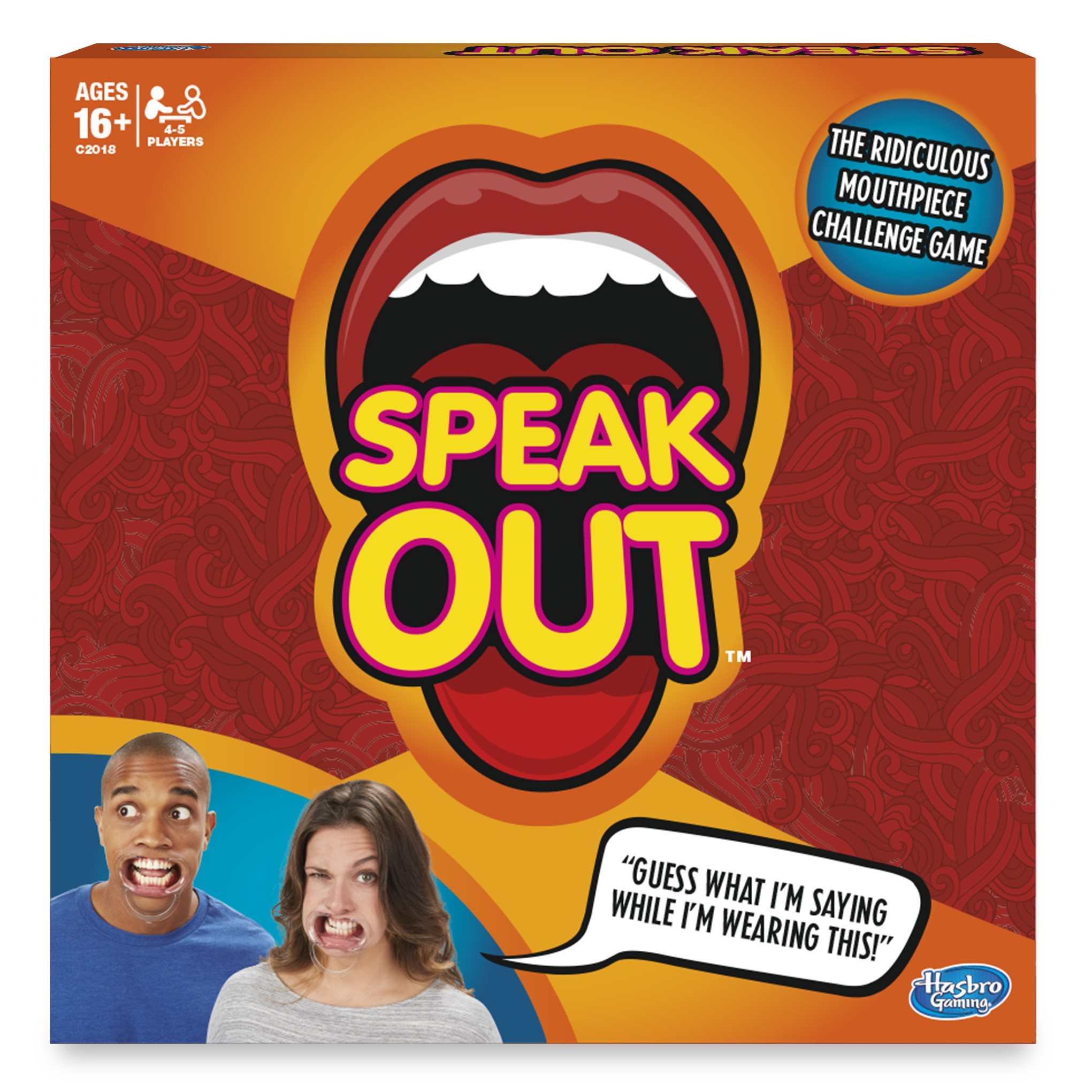 Speak Out Game by Hasbro