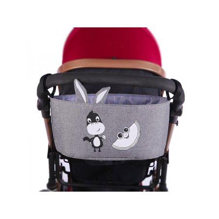 Lavaport 6 Colors Baby Stroller Organizer Bag Animal Pattern Trolley Hanging Travel (Stroller Pattern)