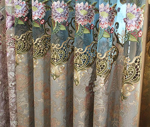 AirDoDo Nature Floral Blackout Grommet Single Curtain Panel by AirDoDo