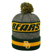 Cuffed Baylor University Bears Knit Hat with Pom