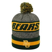 Cuffed Baylor University Bears Knit Hat with Pom