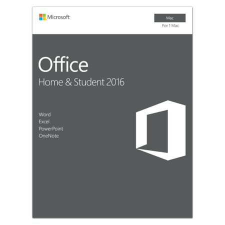 Microsoft Office Home And Student 2016 For Mac   1 User  Mac Key Card
