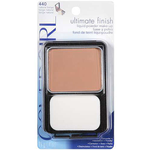 COVERGIRL Outlast All-Day Ultimate Finish 3-in-1 Foundation, 440 Natural Beige, 0.4  oz