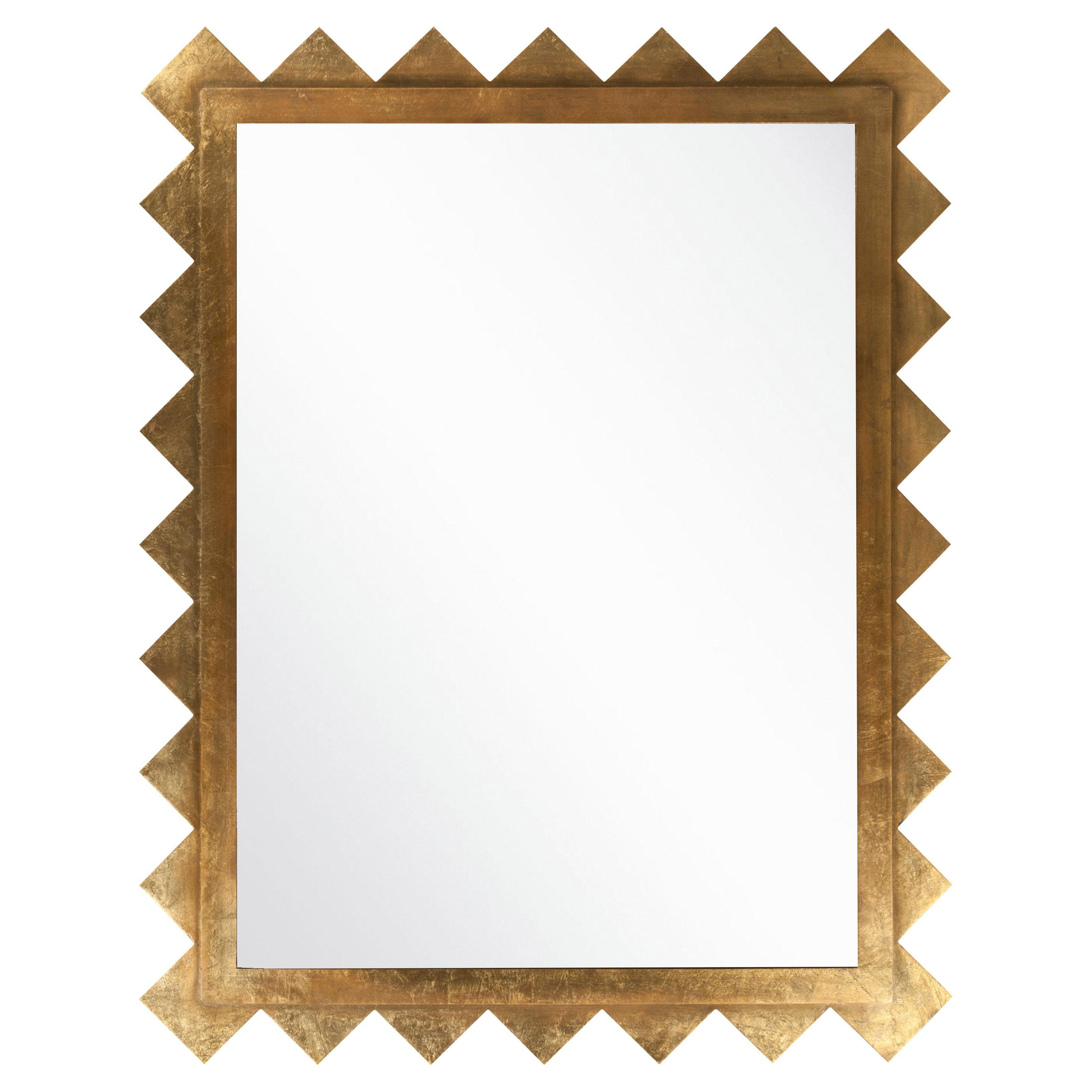 Surya Gold Deco Wall Mirror 45W x 57H in. by Surya