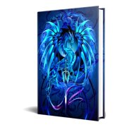 """Dragon Fantasy Sea Blade Dragon Embossed Journal Diary Notebook with Strip 6"""" X 8"""""""