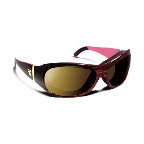 Image of 7 Eye Briza/ SharpView Sunglasses Polarized Copper, Ruby Frame, S-L