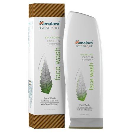Neem & Turmeric Face Wash Himalaya Herbals 5.07 oz Liquid