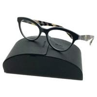 af49c784eb Product Image Authentic PRADA Eyeglasses Frames VPR 11R TFN-101 Black Gray  50 17