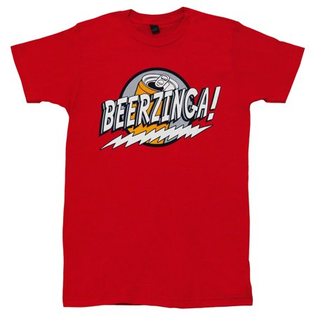 Beerzinga Funny Beer Alcohol Adult T-Shirt -