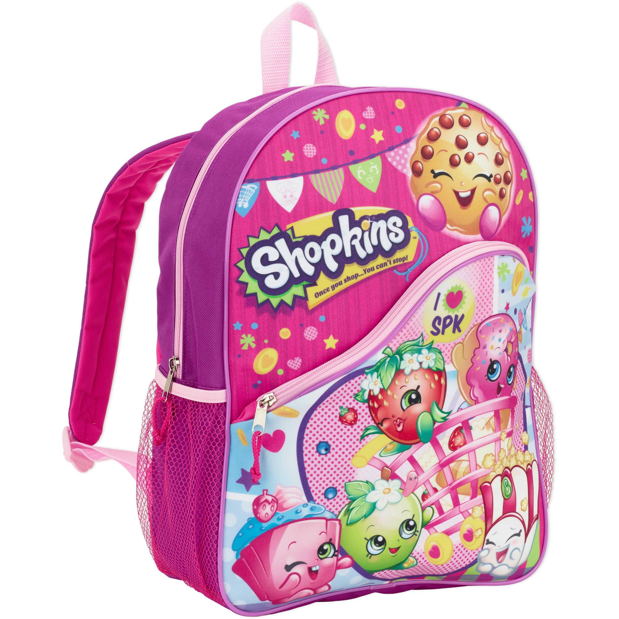 """Moose Entertainment Shopkins 16"""" backpack"""