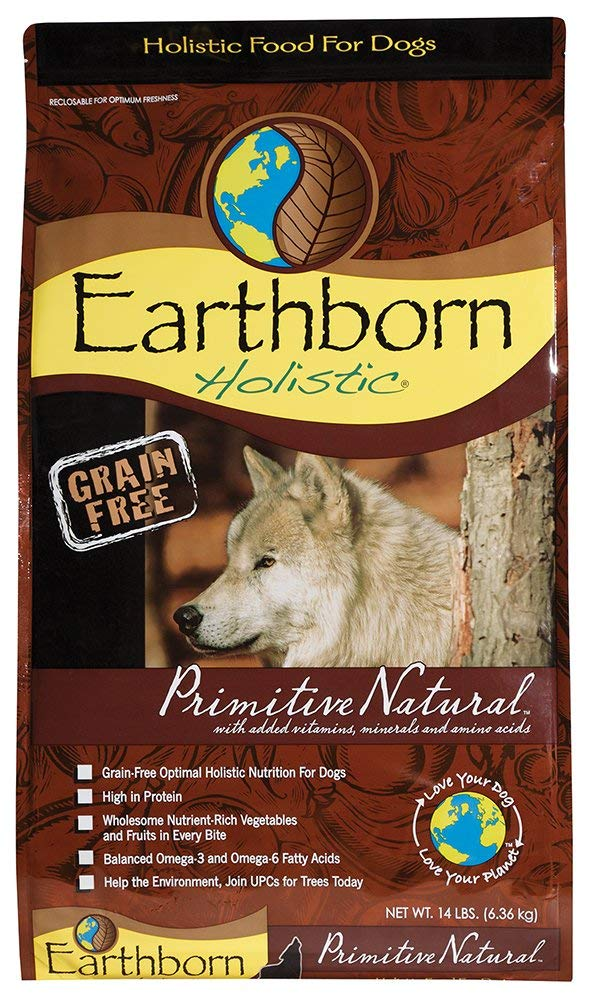 Earthborn Holistic Grain-Free Primitive Natural Dry Dog Food, 28 lb by Earthborn Holistic