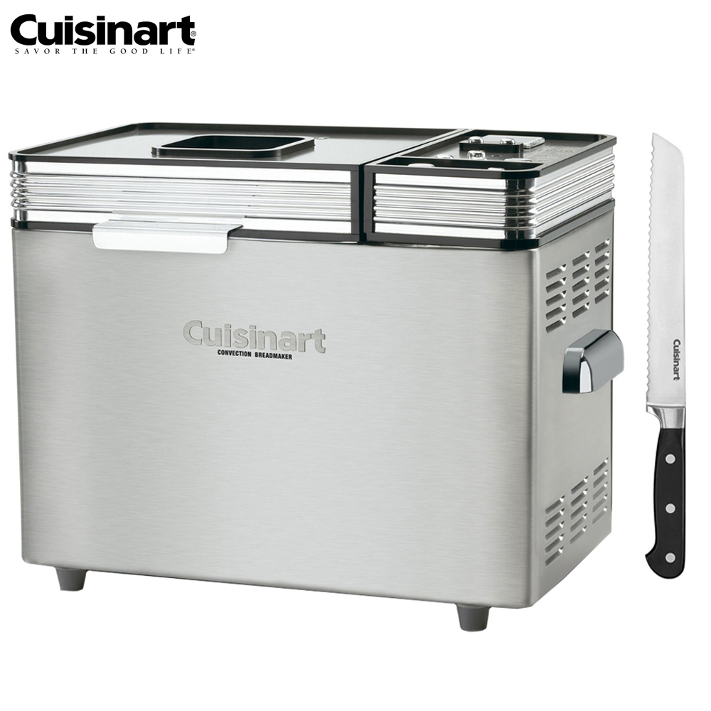 "Cuisinart CBK-200FR Convection Automatic Bread Maker - (Certified Refurbished) w/FREE 8"" Bread Knife"