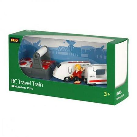 BRIO - 33510 | Remote Control Wooden Travel Train And Figure - image 2 de 3