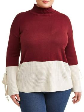 3f6118faba53 Women s Plus-Size Cardigans and Sweaters - Walmart.com - Walmart.com