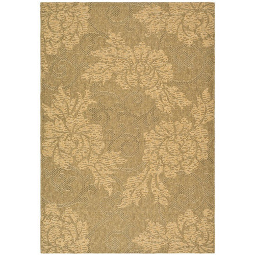 Safavieh Courtyard Gold & Natural Outdoor Area Rug
