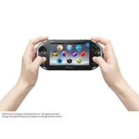 Refurbished Sony PlayStation Vita 2000 WiFi PSV Handheld Gaming Console with Charger