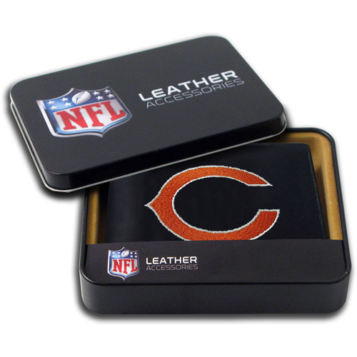 NFL - Men's Chicago Bears Embroidered Billfold Wallet
