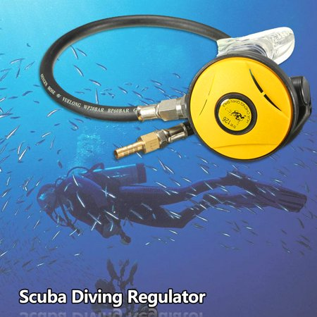 145 PSI Diving Dive Regulator Octopus Hookah sidemirror Second 2nd Stage Scuba Explorer