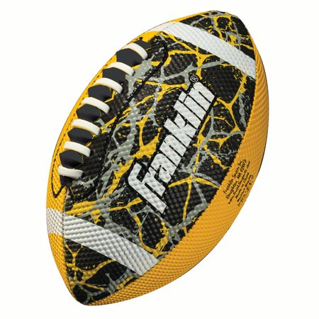 Franklin Sports Team Color Mini Football - Yellow/Black (Mini Team Jersey)