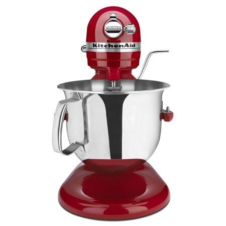 KitchenAid RKSM6573ER 6-Qt. Professional Bowl-Lift Stand Mixer - Empire Red  (Certified Refurbished)