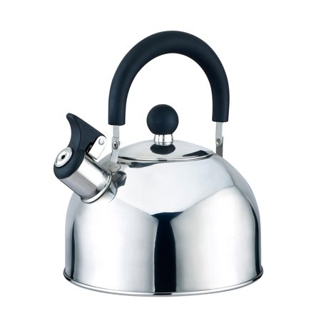 Kitchen Sense Stainless Steel Whistling Tea Kettle 2.5