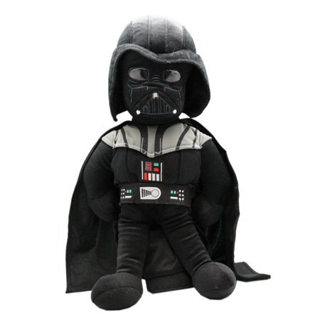 Star Wars Darth Vader Large Size Plush Toy With Secret Zipper Pocket