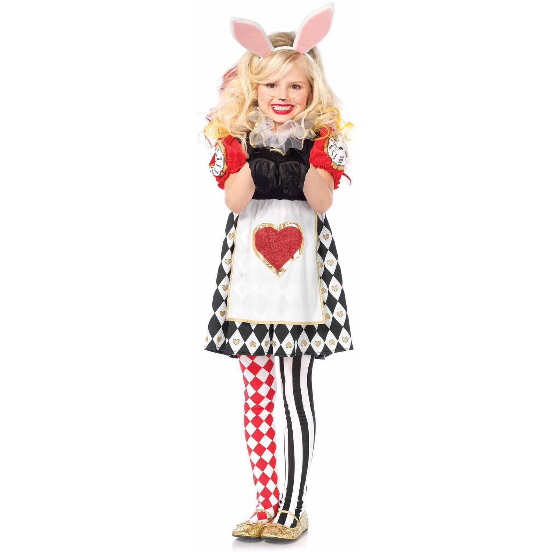 Leg Avenue 3-Piece Wonderland Rabbit Child Halloween Costume