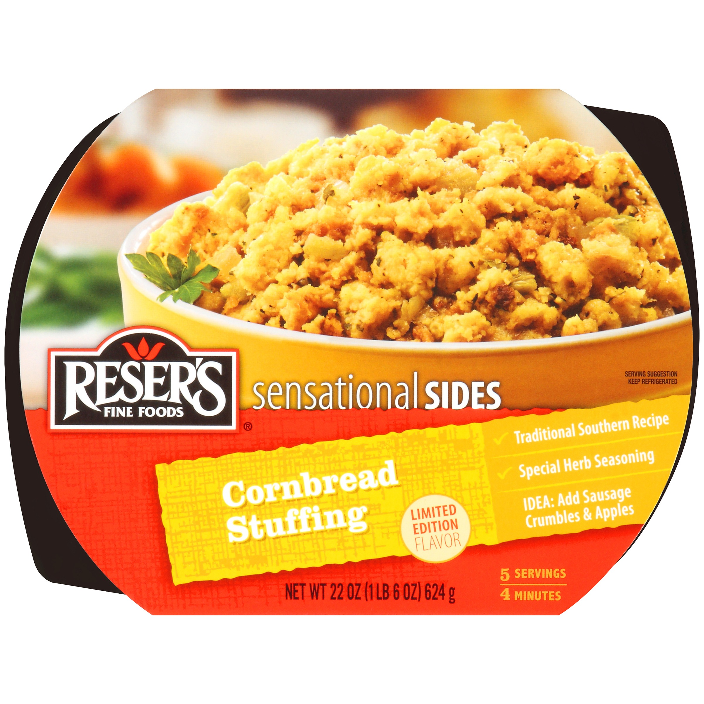 Reser's Fine Foods® Sensational Sides Cornbread Stuffing 22 oz. Tray
