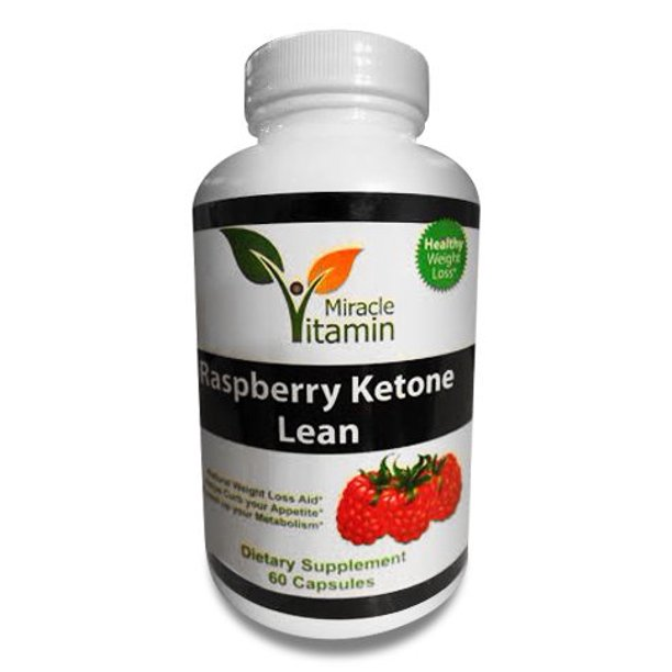 Miracle Vitamin Raspberry Ketones Plus Weight Loss Supplement And Appetite Suppressant 60 Walmart Com Walmart Com