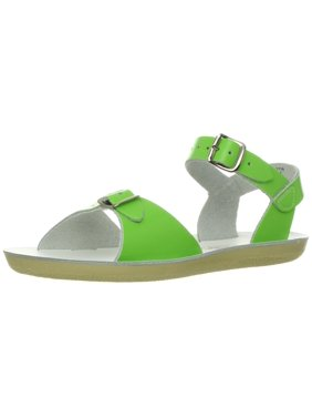 salt water style 1700 sun-san surfer sandal,lime,4 m us toddler