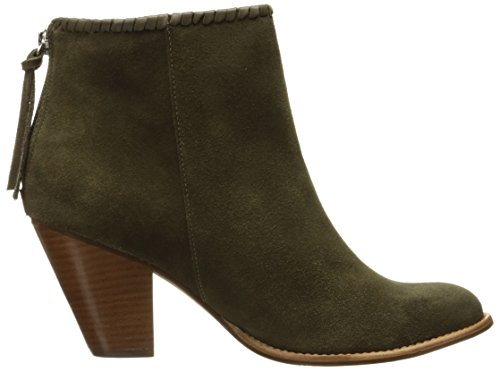 Jack Rogers Women's 7 Greer Suede Boot, Olive, 7 Women's M US 952849