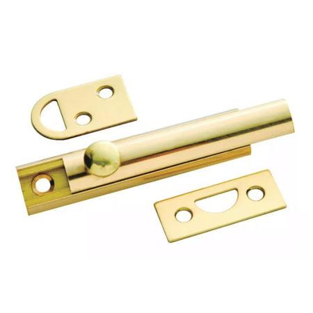 Bright Brass Sash Lock (Bright Solid Brass 3