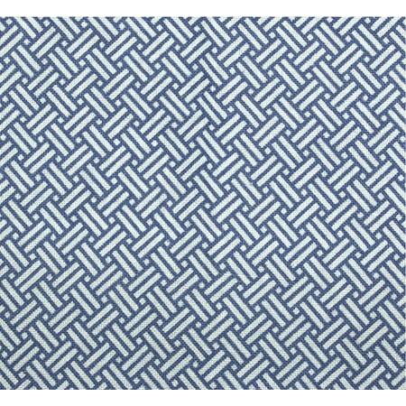 Hospital Patient IV Gown Blue Basket Print