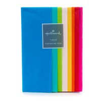 Hallmark Rainbow Pack of Tissue Paper (40 Sheets, 8 Colors)