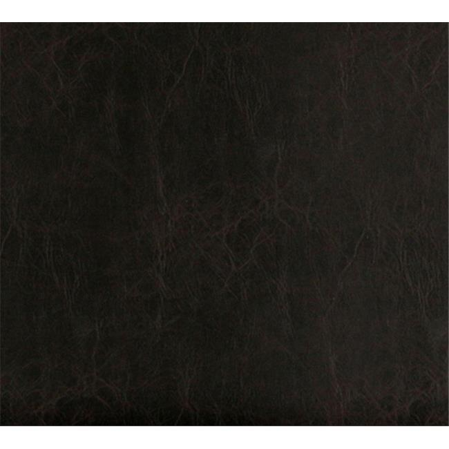 Designer Fabrics G487 54 in. Wide Dark Brown, Distressed Leather Upholstery Grade Recycled Leather