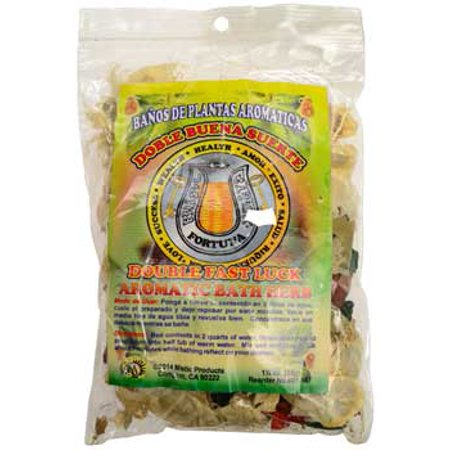 RBI Oils 1 1/4oz Double Fast Luck ( ) aromatic Bath Herb Ceremony Spiritual  Protection