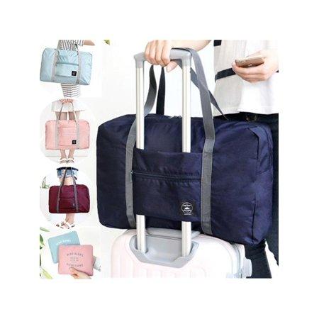Generic Large Capacity Travel Bag Waterproof Foldable Suitcase Handbag Luggage Packing Clothes Storage Bag