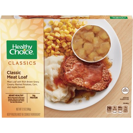 Healthy Choice Classic Meat Loaf Complete Meal, 12 oz, Pack of