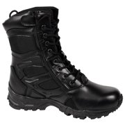 """Rothco 5358 Forced Entry Deployment Boot with side Zipper, 8"""" Tactical Boot"""