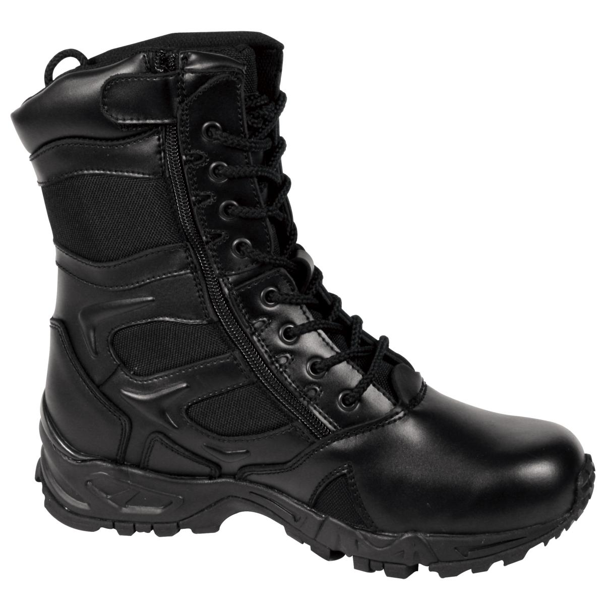 "Rothco 5358 Forced Entry Deployment Boot with side Zipper, 8"" Tactical Boot"